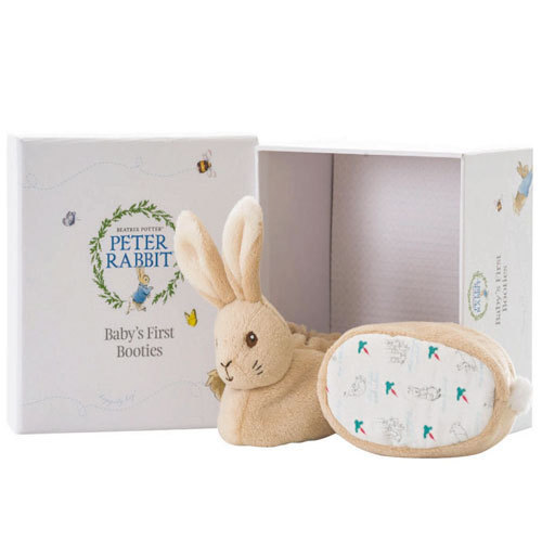 Peter Rabbit Booties Set