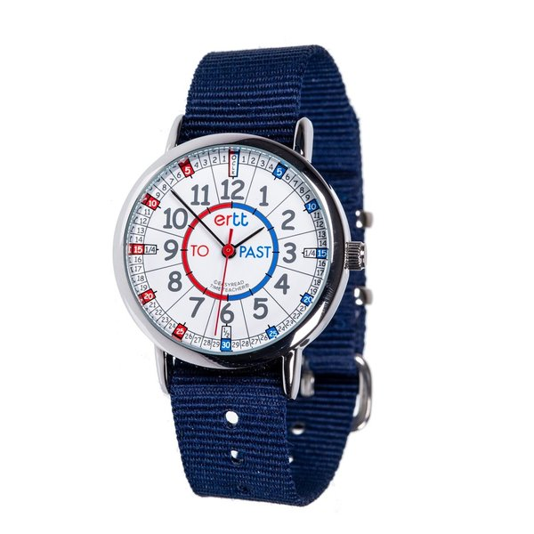 EasyRead  Navy Blue Time Teacher Past/To Watch